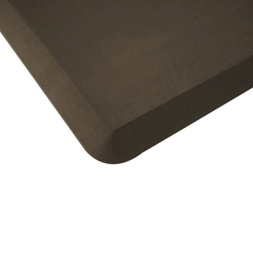 imprint cumulus pro rubber anti-fatigue mat brown colour