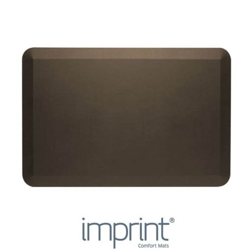 Imprint CumulusPRO rubber anti-fatigue mat brown colour
