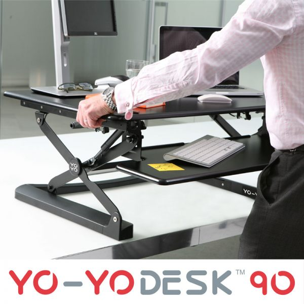 Yo-Yo 90 Sit-Stand Desk adjustment