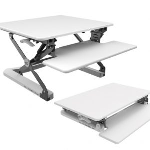 Yo-Yo Sit Stand Desk Workstation Standing Desk 90
