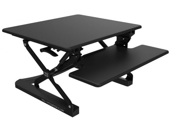 Yo-Yo 90 Sit-Stand Desk 90 Black Colour