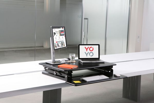 Yo-Yo 90 Sit-Stand Desk 90 height adjustable desk